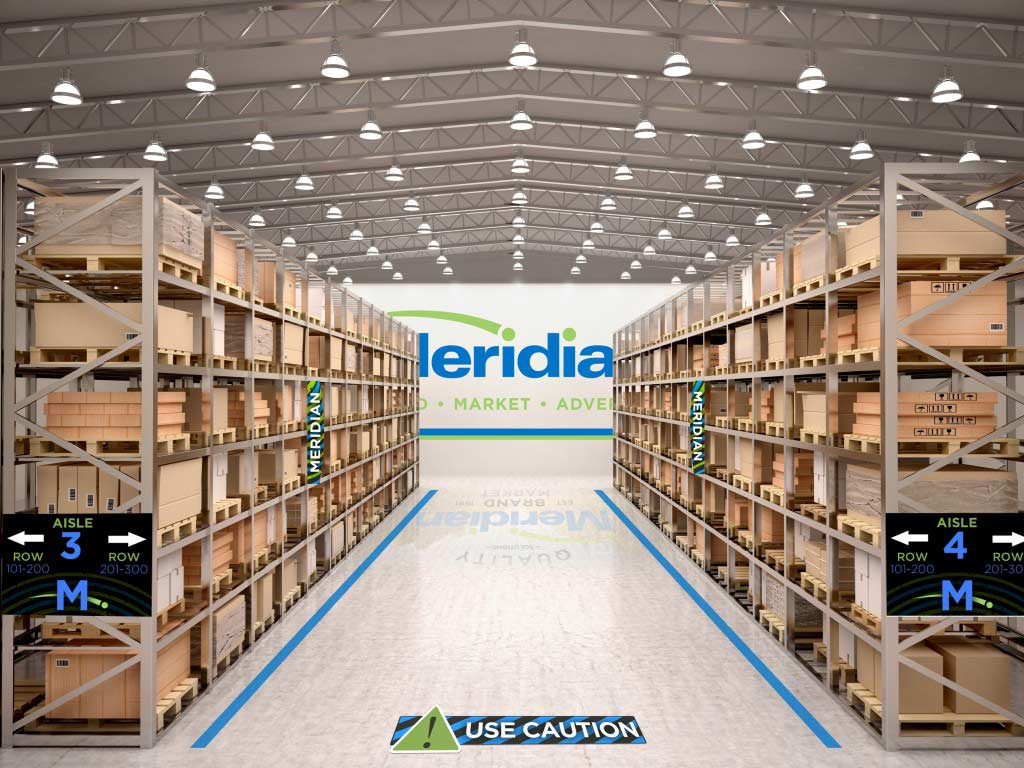 Meridian-Warehouse-signage-display