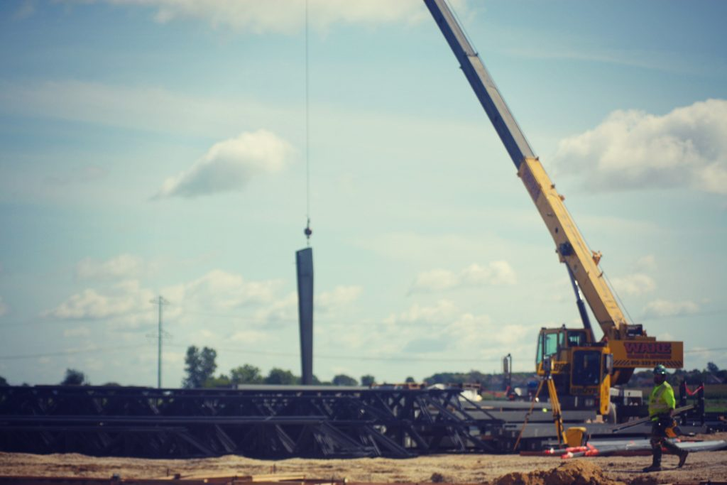 meridian-rockford-new-facility-first-steel-beam